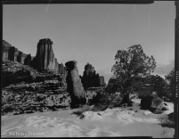 Utah - Fisher Towers - 4x5 90mm