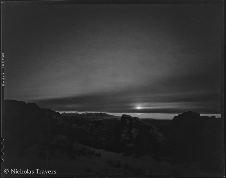 Arches - Sunrise - 4x5 90mm