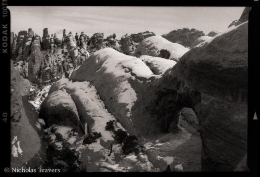 Arches - Devils Garden - Private Arch - Pentax 645 75mm