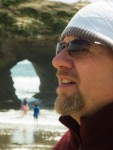 Dad and the natural bridge