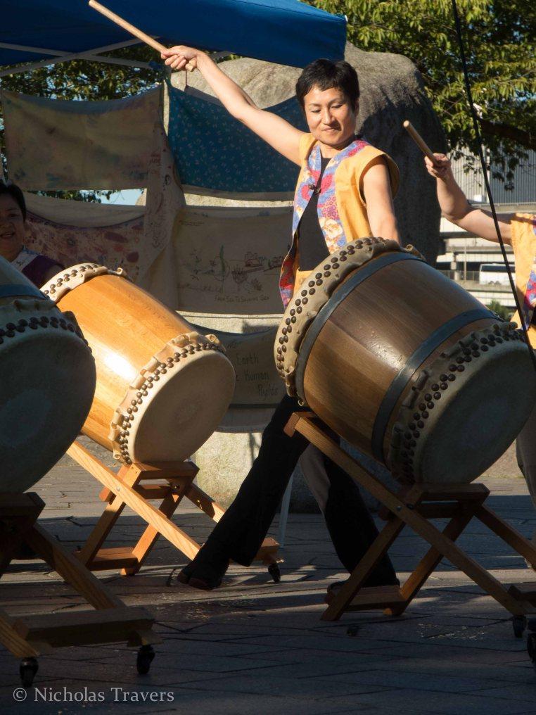 Japanese Taiko Drumming in portland