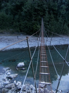 Wire bridge!