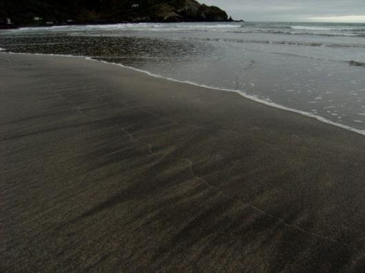 the perfect canvas, or skim board territory