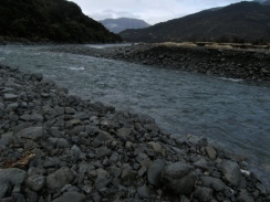 I had to fiord the Boyle River, just outside Lewis Pass, to begin the trip.