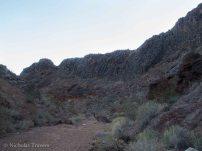 fragmented canyon rim