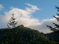 unnamed hilltop north of Skamania, WA