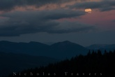 Moon Rises (and cloud) , PCT 09.09.14
