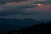 Moon Rises (and cloud) , PCT 09.09.14