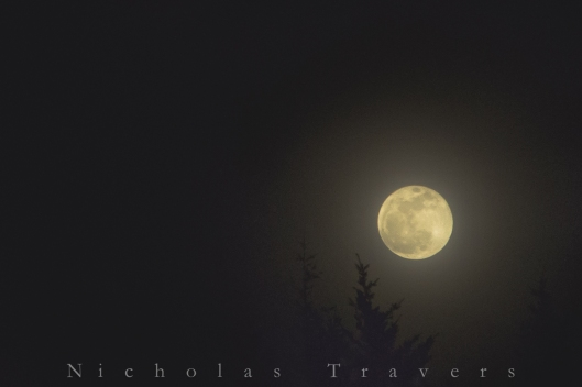 The Full Moon of March 5th 2015 from an angel's rest