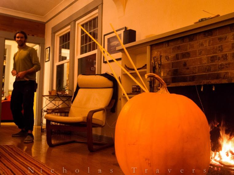 pumpkin carving with shuriken?