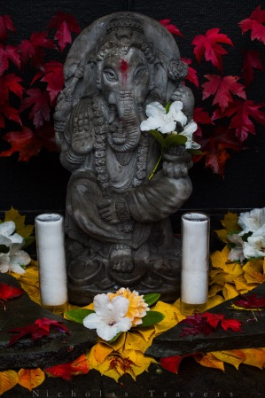 Ganesha holds this gateway and bears witness.