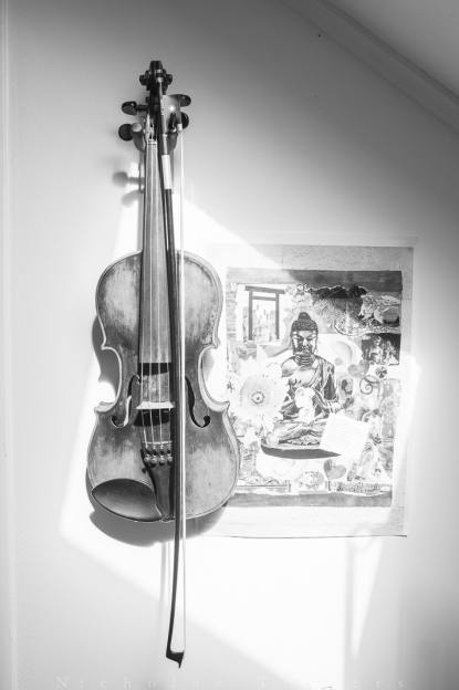 Violin et Collage